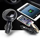 Трансмиттер автомобильный FM MP3 MOD Q8 Bluetooth, фото 6