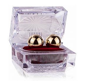 Вагинальные шарики Gold Balls In Presentation Box от Scala