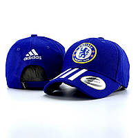 Кепка мужская Adidas Chelsea x blue   бейсболка ЛЮКС, фото 1