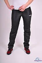 Брюки женские спортивные из плащевки Adidas AD-36385 Размер:42,44,46