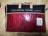 Плед полоска Colorful Home