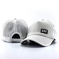 Кепка мужская CAT x white | бейсболка ЛЮКС, фото 1