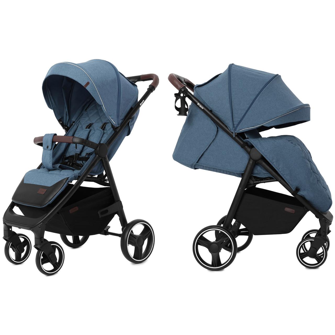 Детская прогулочная коляска Carrello Bravo CRL-8512 Pacific Blue +дождевик