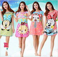 Ночные сорочки, рубашки для сна хлопок яркие и необычные, размеры 44-52. Ночные сорочки оптом и в розницу.