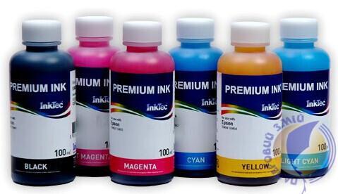 Чернила для сублимации InkTec, Black, 100мл