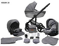 Универсальная коляска 2в1 Mikrus Comodo 23 Grey