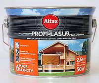 Лазурь для дерева Altax Profi-Lasur 2.5л Бесцветный