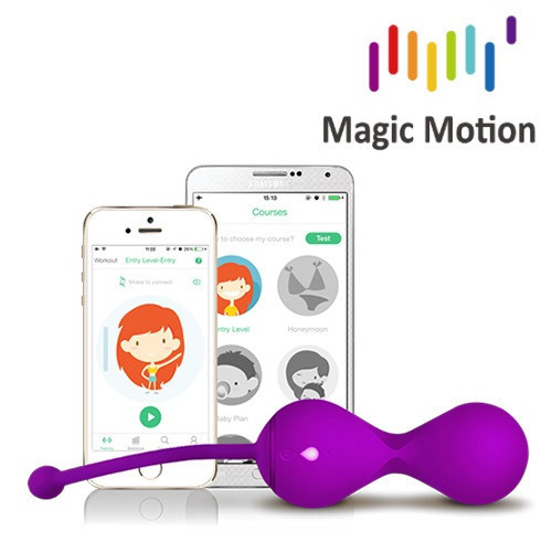 Вагинальный тренажер Smart Kegel Master Balls Magic Motion, App Ready