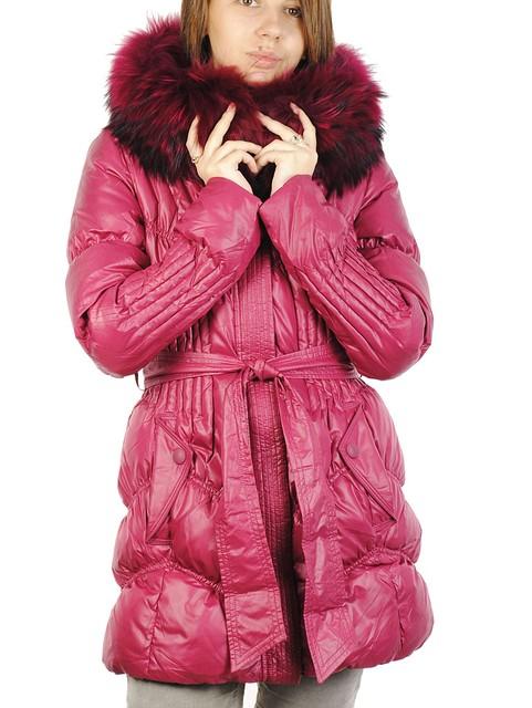 Полупальто женское пуховое   SNOW OWL 11A215 Распродажа