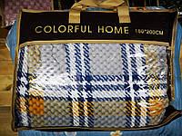 Плед шотландка соты Colorful Home