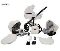 Универсальная коляска 2в1 Mikrus Comodo 6 Bianco
