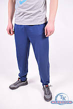 Брюки спортивные мужские трикотажные  (цв.синий) MARATON MWSS1918077PNT002 Размер:56
