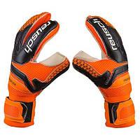 Вратарские перчатки Latex Foam REUSCH, PVC, PU, латех, р-р 9, оранжевый (GG-LFR/9R)