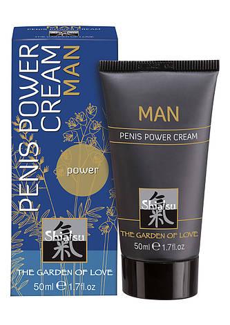 Крем для усиления эрекции Hot Shiatsu Penis Power Cream, фото 2