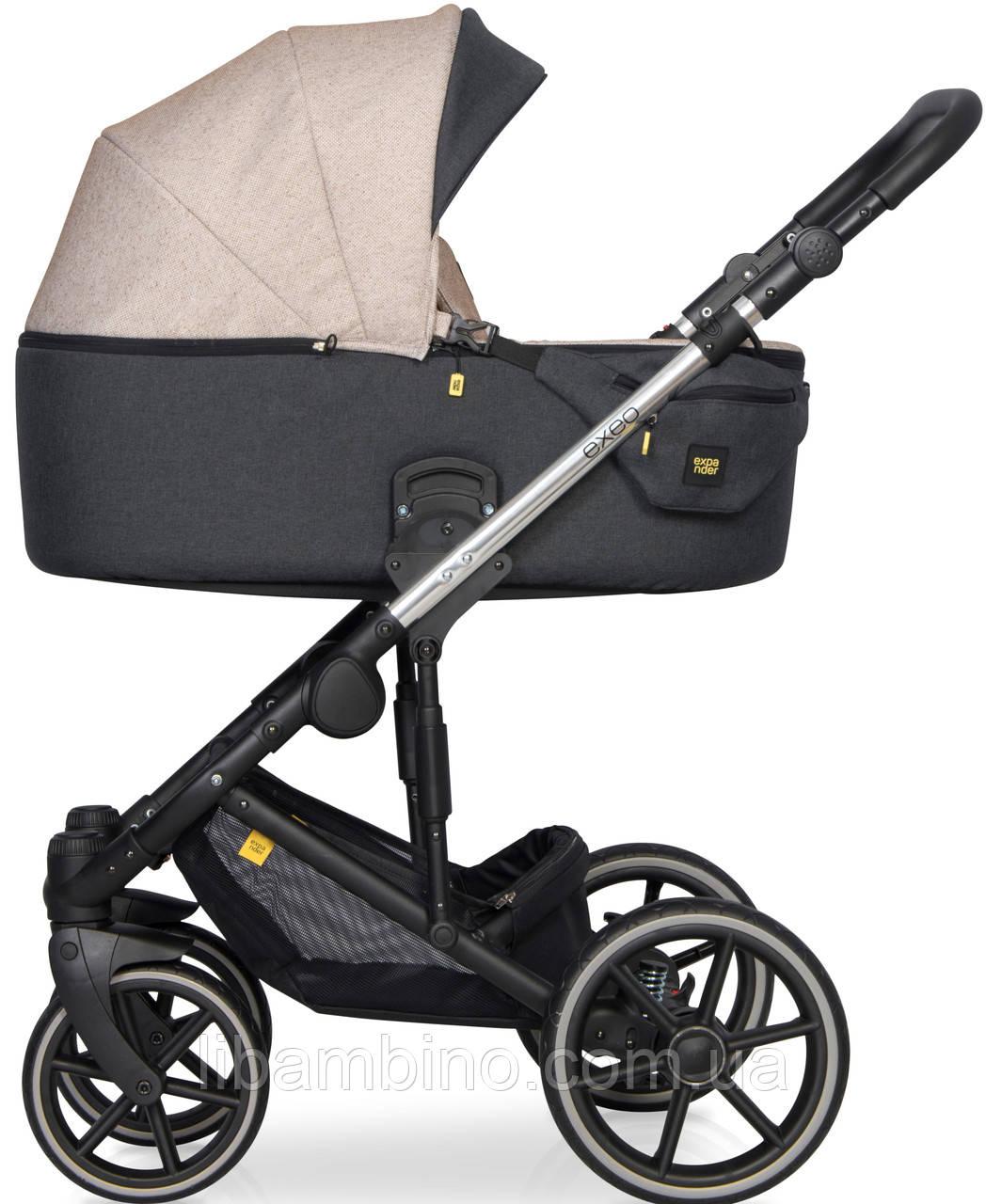 Дитяча універсальна коляска 2 в 1 Expander Exeo 04 Mocca