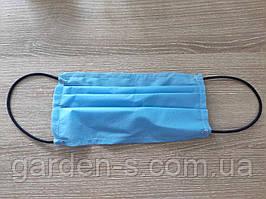 Маски одноразовые 3х-слойные (в упаковке 10шт)