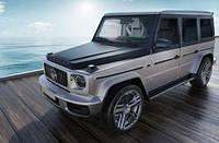 В сети показали новый Mercedes-AMG G 63 с деревянной отделкой пола и кресел