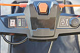 Потужна акумуляторна безщіткова газонокосарка Redback 106648 120 V з акумулятором 2 А год, фото 3