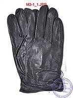 Мужские кожаные перчатки демисезонные  - №M3-1, фото 1