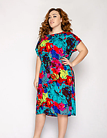 Красивое легкое летнее платье из штапеля