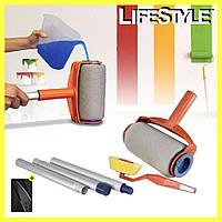 Валик для идеальной покраски Pintar Facil + Нож-кредитка В Подарок!