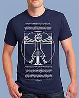 Классная молодёжная футболка с рисунком Рик и Морти на подарок с приколом