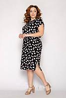 Красивое легкое летнее платье из штапеля недорого