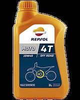 Масло для 4T двигателей 10W-40 Moto Racing, 1л, REPSOL / RP160N51