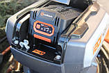Потужна акумуляторна безщіткова газонокосарка Redback 106648 120 V з акумулятором 2 А год, фото 8