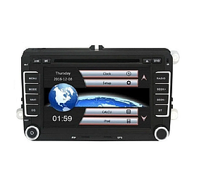 """Штатная магнитола на WinCE 7"""" дюймов Volkswagen Passat Skoda octavia  seat"""