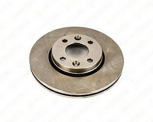 Гальмівний диск передній 258mm. на Renault Kangoo II 2008-> — Meyle - 16-155210027