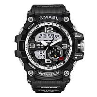 Smael 1617 чорні чоловічі спортивні годинник