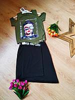 Костюм с юбкой для девочек 10-13 лет Турция  C.S.W.