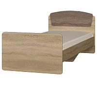 Кровать односпальная Астория-2 дуб сонома + трюфель