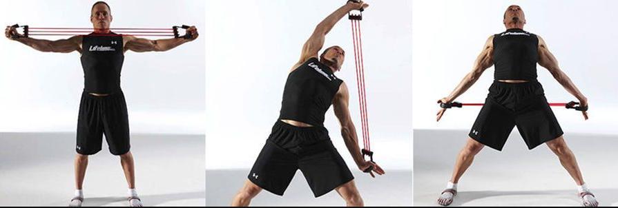 Пружинний еспандер для рук і грудних м'язів Chest Extender, фото 2