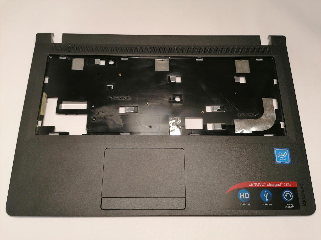 Б/У корпус крышка клавиатуры (топкейс) для LENOVO 100-14 IBY 100-14 ISK (AP1EQ000200)