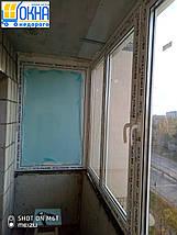 Остекление балкона  П-образной формы, фото 3