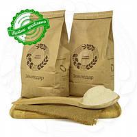 Органічне гречане борошно 0,5 кг сертифіковане без ГМО з цільного зерна необсмаженої гречки