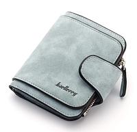 Женский кошелёк Baellerry мини голубого цвета, фото 1