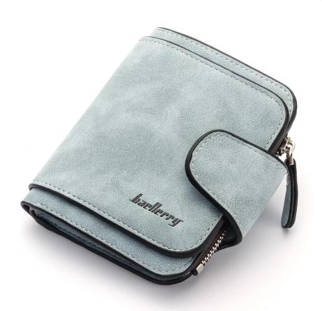 Женский кошелёк Baellerry мини голубого цвета