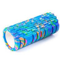 Ролик для йоги, пілатеса, фітнеса PILLAR 33х14см  блакитний