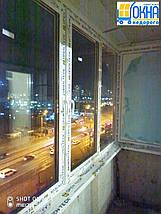 Остекление Г-образного балкона, фото 2
