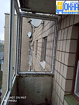 Остекление Г-образного балкона, фото 3