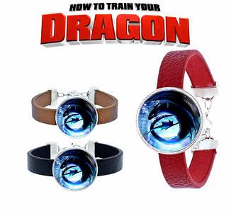"""Браслет Как приручить дракона """"Ночная Фурия"""" / How to Train Your Dragon"""