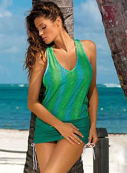 Пляжна туніка-плаття M 366 ARIEL (розміри S-L в кольорах)