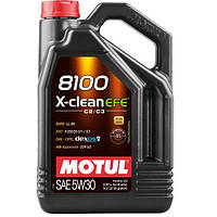 Масло моторное 100% синтетическое д/авто MOTUL 8100 X-clean EFE SAE 5W30 5л. 109471/814051