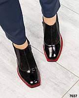 Туфли закрытые женскиие черные, фото 1