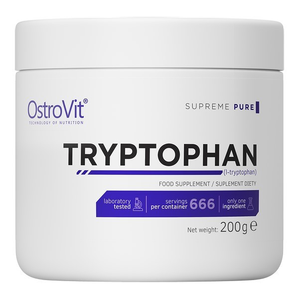 Аминокислота Tryptophan Ostrovit 200 грамм