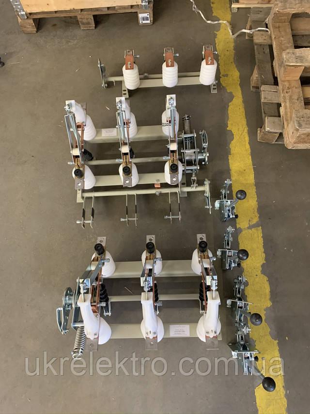 Выключатель нагрузки ВНАп 10/630 с приводами Пр-10