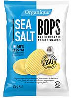 Картофельные чипсы с морской солью Organique McLLOYD'S, 85 г